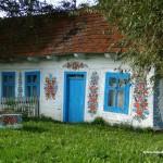 Malowany dom - Zalipie