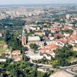 Panorama Gniezna