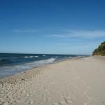 Jastrzębia Góra - plaża